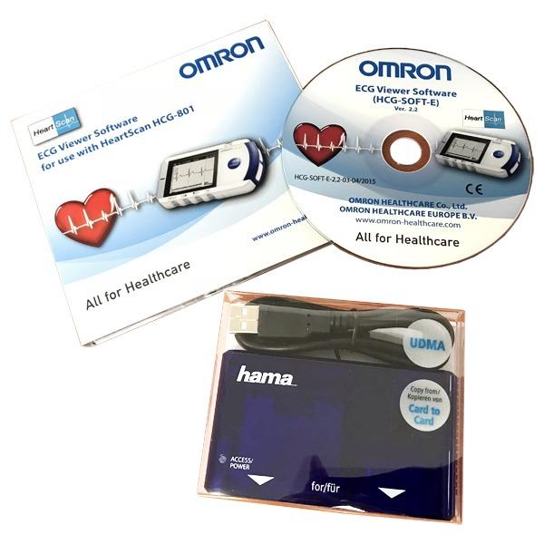 EKG OMRON HeartScan HCG-801 (rozširujúca sada)