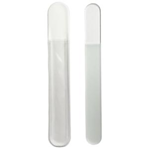Pilník sklenený 19,5cm čírý obojstranný