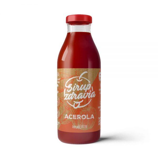 Sirup zdravia Acerola