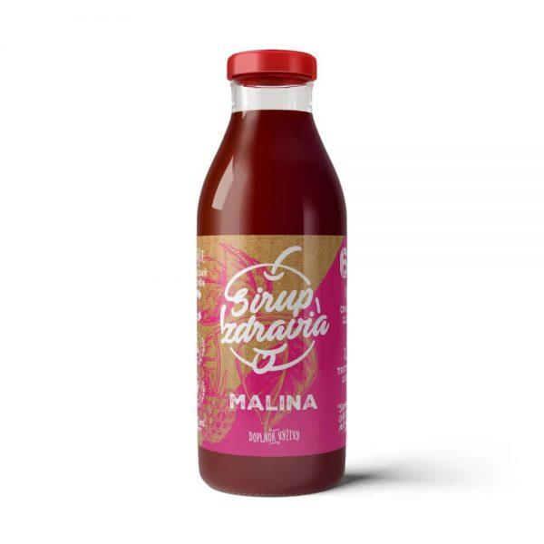 Sirup zdravia Malina